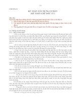 KẾ TOÁN XÂY DỰNG CƠ BẢN (KẾ TOÁN CHỦ ĐẦU TƯ)
