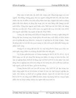 TỔNG QUAN VỀ NGUYÊN LIỆU VÀ CÔNG NGHỆ LÀM SẠCH HÓA HỌC VẢI DỆT KIM