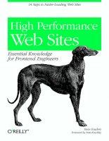 High performance web sites