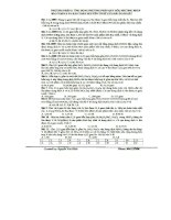 Ứng dụng phương pháp quy đổi để giải bài toán sắt