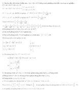 những bài toán khó và hay ( có HD)