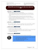 Lập kế hoạch và lịch trình thực hiện dự án ODA