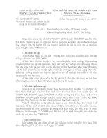 Số 116/PGDĐT-GDTH ngày 23/6/2009 về việc  Tổ chức ôn tập và kiểm tra lại trong hè cho học sinh tiểu học
