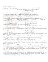 Đề tham khảo ôn thi TN12 môn sinh (8)