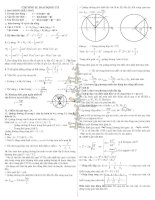 Công thức vật lý lớp 12