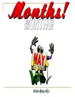 Months (Hình động)