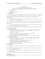 Chương X. Vấn đề nguồn lực con người trong quá trình xây dựng CNXH