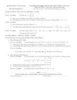 Tuyển tập đề thi tốt nghiệp trung học phổ thông năm 2010 môn toán