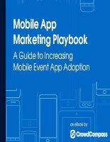 Sổ tay làm mobile marketing cho app ứng dụng trên mobile