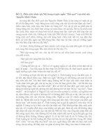 """. Phân tích nhân vật Nhĩ trong truyện ngắn """"Bến quê"""" của nhà văn Nguyễn Minh Châu."""