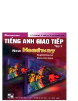 Tiếng anh giao tiếp   new headway tập 1 part 1