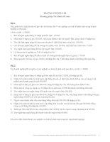 BÀI TẬP CHƯƠNG III Phương pháp Tài khoản kế toán