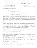 Giải đáp thắc mắc về Quy chế thi TN