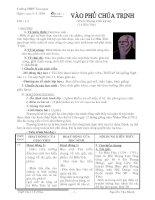 Tiết 1 - 2 Vào phủ chúa Trịnh