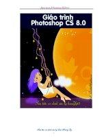 Giáo trình photoshop CS 8 0