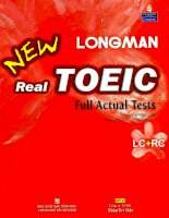 Longman new real TOEIC – full actual test