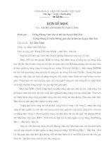 DON XIN DI TANG CUONG