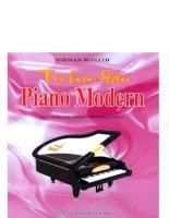 Tự học đàn piano modern