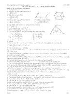 Tuyển tập dạng bài thi ĐH hình học giải tích 12