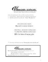Bài giảng: Các hàm số lượng giác  (Đại số và Giải tích 11)