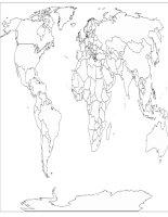bản đồ câm thế giới