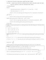 Chuyên để đường tròn trong mặt phẳng(phân dạng và bài tập)