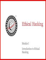 [CEH V3] Introduction to Ethical Hacking