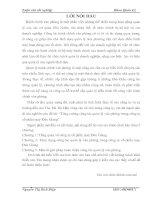 MỘT SỐ GIẢI PHÁP NÂNG CAO LỢI NHUẬN CỦA CÔNG TY CỔ PHẦN DỊCH VỤ QUẢN LÝ VÀ ĐẦU TƯ BẤT ĐỘNG SẢN DK