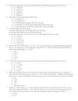 200 câu trắc nghiệm ôn thi ĐH Vật lý(có đ án)