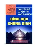 chuyen de luyen thi dai hoc hinh hoc khong gian