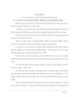 ĐÁNH GIÁ KHẢ NĂNG XỬ LÝ NƯỚC THẢI CỦA CÁC LOẠI VI KHUẨN KHÁC NHAU