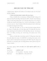 BÁO CÁO THỰC TẬP TỔNG HỢP CÔNG TY CỔ PHẦN ĐẦU TƯ VÀ XÂY DỰNG Á ĐÔNG