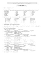 E10 UNIT 4 TEST 1