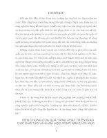 BIỆN CHỨNG CỦA QUÁ TRÌNH PHÁT TRIỂN GIÁO DỤC ĐÀO TẠO VÀ KHOA HỌC CÔNG NGHỆ VỚI MỤC TIÊU CÔNG NGHIỆP HOÁ HIỆN ĐẠI HOÁ Ở VIỆT NAM HIỆN NAY