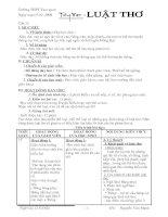 Luật thơ (tiêt 23)