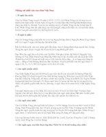 Lịch sử: Những cái nhất của vua chúa Việt Nam