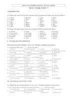 E10 UNIT 7 TEST 1