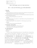 Giáo án 10 nâng cao đầy đủ - cực hay không phải sửa