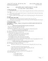 Giáo án hướng nghiệp trọn bộ từ tháng 9 đến tháng 3