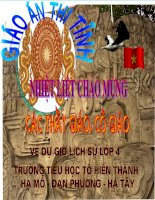 Quang Trung Đại phá quân Thanh