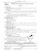 Hình học 8(5-6), 2 cột