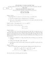 Đề thi vao lop 10 Môn Toán 80-09