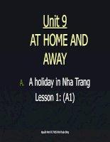 Unit 9-L1(lớp 7)