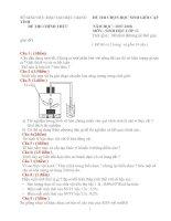 ĐÊ THI HSG CẤP TỈNH SINH HỌC 12 ( 2007-2008) HẬU GIANG