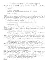 BÀI TẬP ÔN THIVÀOLỚP 10 CHUYEN DE TU GIAC NOI TIEP
