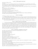 Tổng hợp kiến thức Anh 9 Từ Unit 1-10