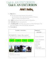 lesson plan 10_unit6-an excursion(reading and listening for low level)