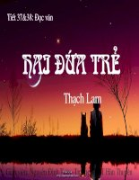 Hai dua tre -Thach Lam
