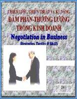 bí quyết dẫn đến thành công trong thương lượng