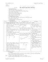 giáo án hình học 6